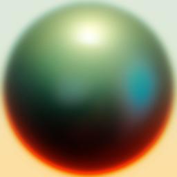 lit sphere matball example