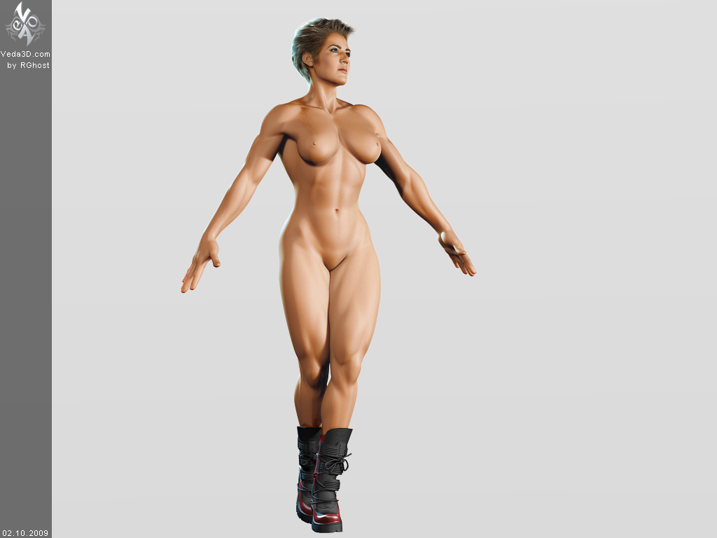 nude muscle