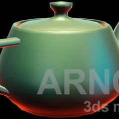 Lit Sphere material for Arnold in 3ds max 2018