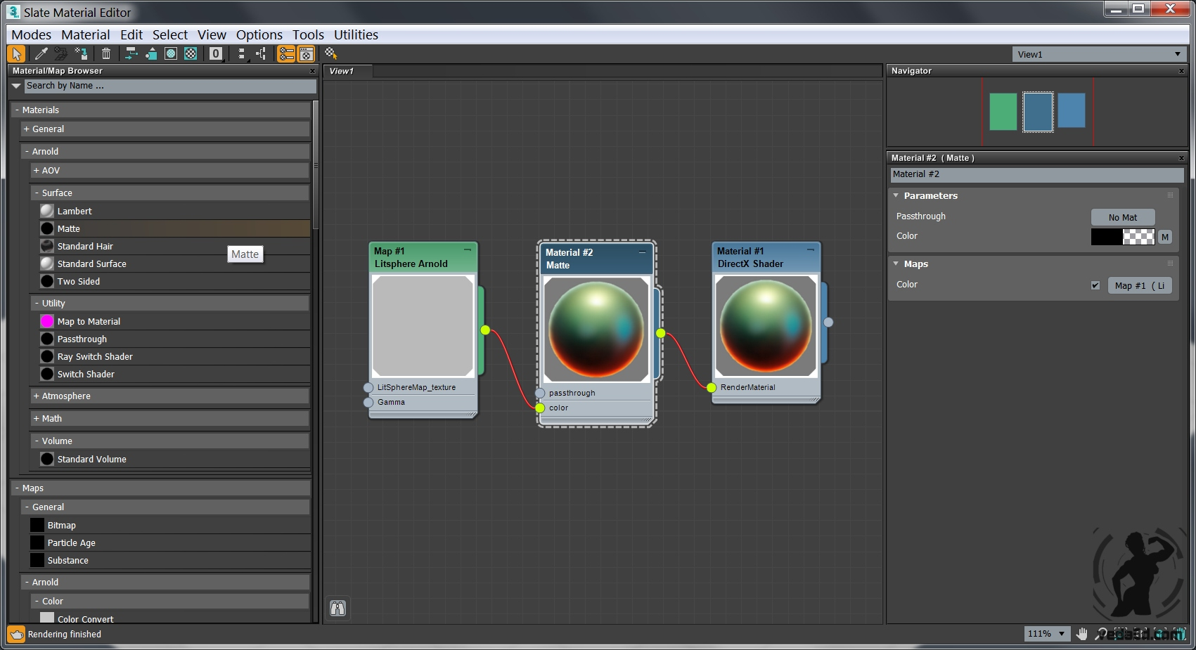 Lit Sphere material for Arnold in 3ds max 2018 - veda3d com